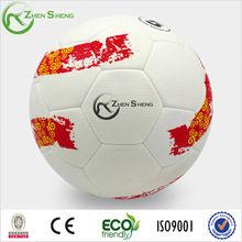 Zhensheng sports official size 5 hand sewn pu soccer ball