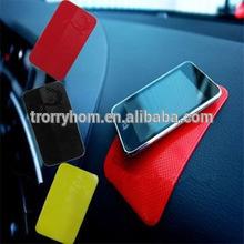 Car anti slip PU sticky mat/PU gel sticky pad/Car dash pad