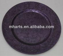 plastic plate wedding decoration cheap