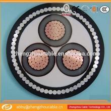 Low voltage copper conductor pvc sheath copper cable