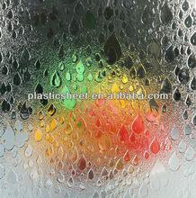 GPPS Sheet replace glass folding shower screen
