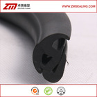 extruded EPDM rubber windshield seal