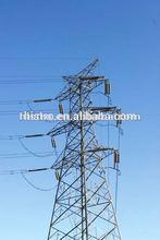 high voltage 4 legged power transmission line tower