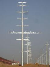 high voltage single pole power transmission line tower
