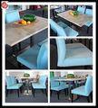 Moderna mesa de comedor y silla