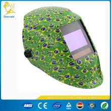 animal welding helmet