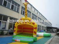 giraffe design inflatable bounce for kids