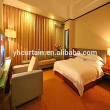 popular use plain hotel curtain