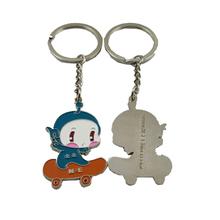 promotional factory custom auto car logo key ring souvenir branded keychains