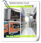 Isuzu mobile food truck,refrigerated food van,ISUZU Moblie kitchen truck, flow cooking house truck.