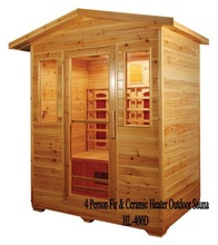 High Quality Outdoor Sauna Room