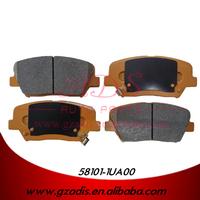 FOR Sorento AUTO BRAKE PADS MANUFACTURER FOR KIA CARS OEM: 58101-1UA00