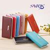 Savfox fashion leather multifunction ladies wallet