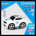 Electric toy for kids with pdq stand small car toys