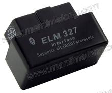 Car Scanner Diagnostic Tool ELM327 Mini OBD2 Bluetooth V2.0 compatible with desktops laptops tablet PC, mobile phones