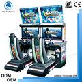 مخصصة عملة-- تعمل سرعة السائق مغطى 2 اللاعبين للفتيان ألعاب سباقات السيارات