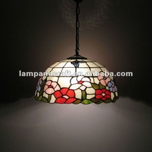 Hot sell tiffany pendant lamp fit to tiffany chair for home decor