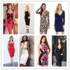 Latest dress new fashion bandage dress evening dress good price in Guangzhou