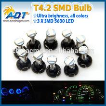 New product T4.2 5630SMD auto car dash light bulbs