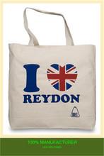2014 new designer shopping bag canvas reusable shopping bags jute bag striped promotional bag