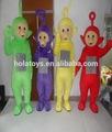 famosos fantasia teletubbies mascote