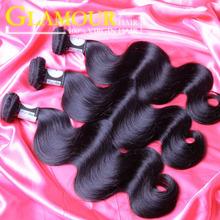 Free sample Glamour hair 6A grade raw hair bundles unporcessed wholesale virgin malaysian hair