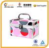 aluminum makeup case, colorful makeup case, PVC panel makeup case