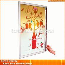 Lanue LY-P05 32mm plexiglass wall mount sign frame