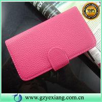 Lychee PU Leather Case For LG Optimus L5II E455 Flip Case