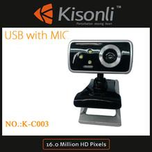 Top Quality usb Webcam 300k Pixel pc Camera Driver for Desktop PC Laptop