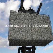 120*150mm anti corrosion galvanized flood fighting gabion net cage