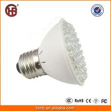 Professional High Effect 3W E27 60pcs SMD Red/Blue Plant Grow LED Light crece la luz