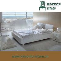 comfortable modern design wooden bed models