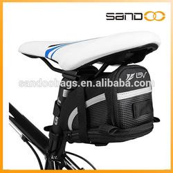 Bicycle Seat Strap-On waterproof folding bicycle bag, outdoor bicycle saddle bag