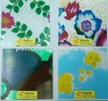 Color Sheet for kitchen cabinet Polystyrene sheet