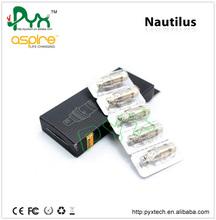 2014 New arrive Adjustable Airflow System genuine aspire nautilus 5ml capacity atomizer contact andy skype-sale2645