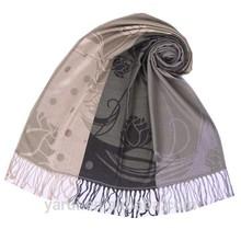 YR13-127 Womens Woven Army Green Color viscose scarf rayon shawl