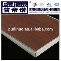 Stone veneer aluminium honeycomb composite panel toilet partition