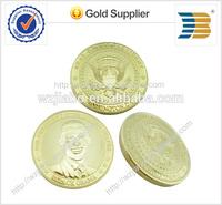 custom 3d usa Obama logos souvenir challenge metal coins