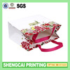 Paper Gift bags wholesale with glue ribbon handle