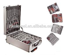 kraft 186pc hand tool sets 186 pcs aluminum case tool set