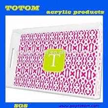 POP acrylic amenities tray