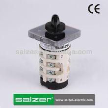 Sab16 salzer interruptor giratorio 3 posición o- de y- delta( aprobado por la ce)