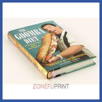 Hardcover Casewrap Cook Book Print