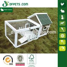 DFPets DFR065 Promotion Wood Rabbit Hutches Run