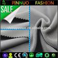 2015 yeni tasarım düz boyalı siyah 95 polyester 5 spandex kumaş karışımı