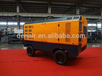 300 psi 20bar portable air compressor with cummins engine