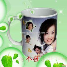 Vivid photos on mugs from inkjet water transfer paper