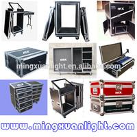 Custom aluminum tool box flight cases with wheels