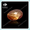 Perfect Synthetic Checker Oval Cut Champagne Rough Gem Topaz Price